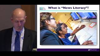 Winter 2018 Donoho Colloquium - Alan C. Miller: The Case for News Literacy