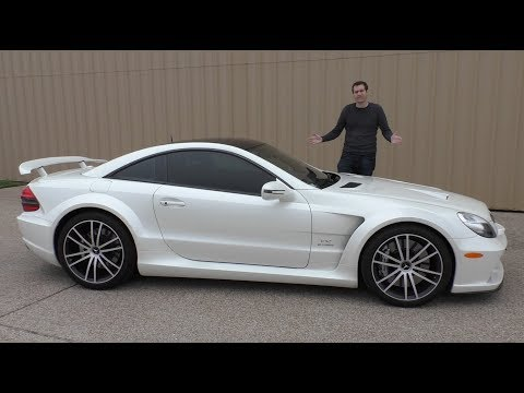 The Mercedes SL65 AMG Black Series Was a 300 000 Monster