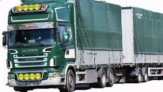 Scania V8 on the Road - Sweden