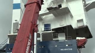 Bodewes Shipyards / Sectiebouw /  Ual Houston / Testfiles
