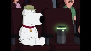 Family Guy Brian Takes Alexa To The Cinema