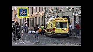 News Two Mexicans, two Russians, a Ukrainian hospitalized in taxi...