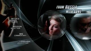 James Bond Ultimate Edition - From Russia With Love {Menu}