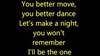 Letra Pitbull ft Kesha- Timber (Lyrics)