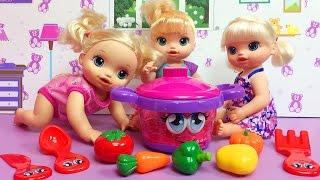 Baby Alive ile Oyuncak Bebek ve Konuşan Oyuncak Tencere   EvcilikTV