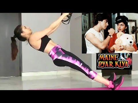 Xxx Mp4 Salman Khan S Maine Pyaar Kiya Actress Bhagyashree S HOT Workout Videos 3gp Sex
