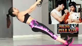 Salman Khan's Maine Pyaar Kiya Actress Bhagyashree's HOT Workout Videos