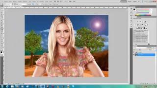 Como Trocar o Fundo de uma Foto _ Photoshop CS5