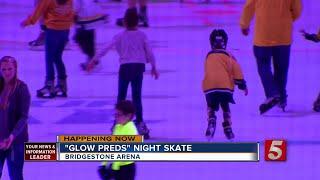 Bridgestone Holds Glow In The Dark Skate