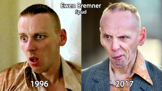 Trainspotting Cast Then and Now 2017