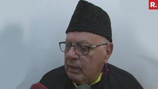 PoK Belongs To Pakistan Says Farooq Abdullah