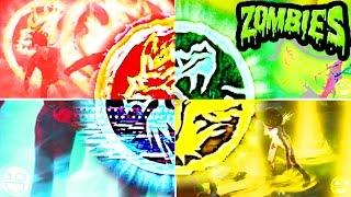 ALL NEW SHAOLIN SHUFFLE SUPER POWERS SHOWCASE & GUIDE/WALKTHROUGH!! (Zombies Easter Eggs)