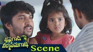 Nani Escapes With Children From Goons - Chasing Scene - Krishna Gaadi Veera Prema Gaadha Scenes
