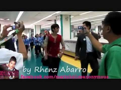 Mario Maurer Arrives in Manila NAIA Airport Philippines October 26 2011 NEVER BEFORE SEEN VIDEO
