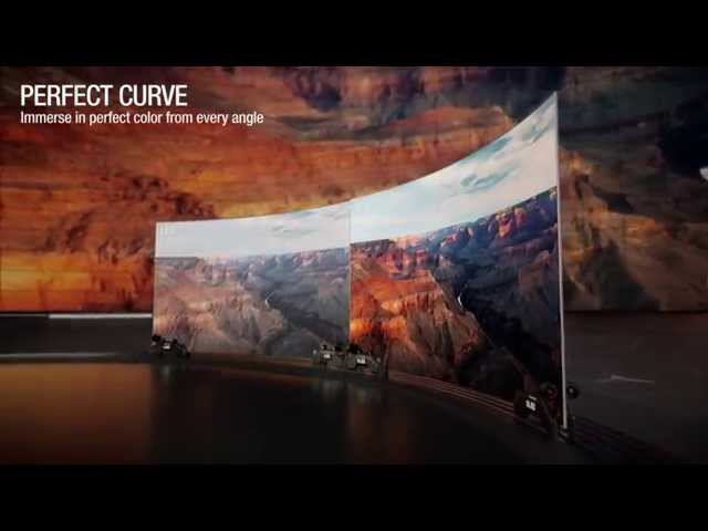 LG Curved OLED TV Advert – Perfect Viewing, Infinite Contrast Ratio & 4K Upscaling