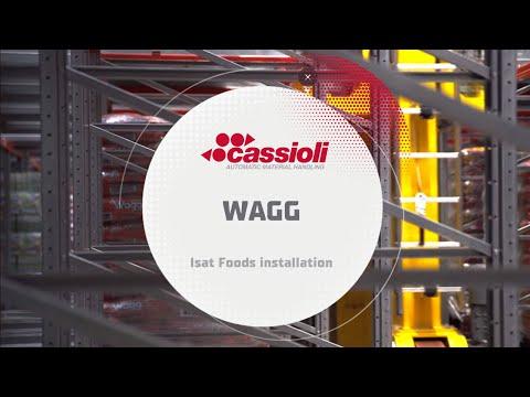 Cassioli iSAT - Wagg Foods installation