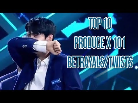 Produce X 101 프로듀스 X 101 Top 10 Betrayals Twists