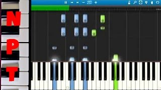Rachel Platten - Fight Song Piano Cover/Tutorial - How To Play Fight Song on piano - Synthesia