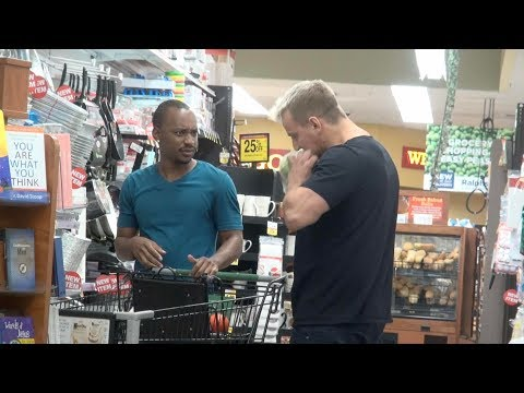 Eating Out Of Strangers Shopping Carts Prank