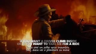 Leonard Cohen - I'm Your Man, lyrics video (tradus romana)