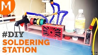 Build Soldering Station using MDF