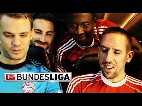 Battle of the Bus Tricks Borussia Dortmund vs. Bayern Munich