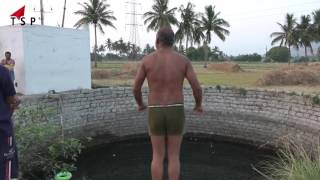 funny swimming || India