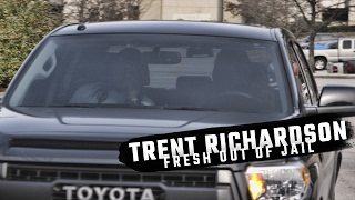 Watch Trent Richardson leave Hoover City Jail