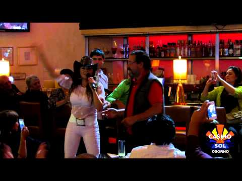 Carolina Molina en Casino Sol Osorno