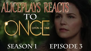 Once Upon a Time 1x03 Reaction - Snow Falls