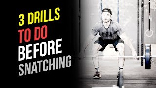 Snatch SECRETS (3 Drills To Do Before Snatching)
