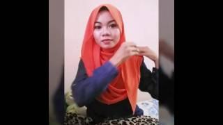 Cara pakai shawl zara zya (inas) #1minitsiap