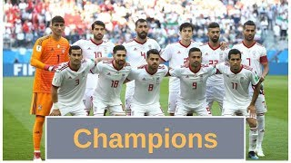 Proof that Iran will win Asian cup 2019