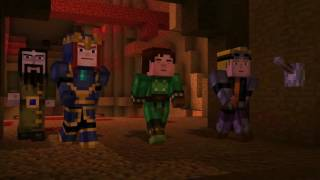 Minecraft Story Mode Playthrough Episode 6 Part 5 - The Pumpkin Trap!