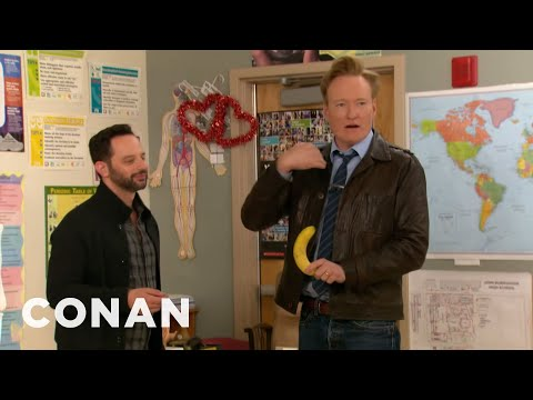Xxx Mp4 Conan Amp Nick Kroll Teach A Sex Ed Class 3gp Sex