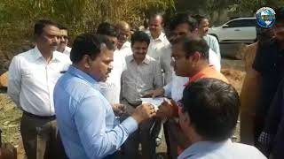 GHMC Commissioner Dana Kishore Inspects In Hyderabad | Overseas News