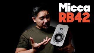 Micca RB42 Review vs MB42X Bookshelf Speaker Review- Bonus Crossover Mod (End)
