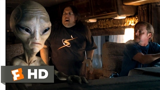 Paul (2011) - Spaz Attack Scene (1/10) | Movieclips
