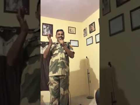 Xxx Mp4 BSF Officer Rajendra Singh Sings Kishore Kr Song Pal Bhar Ke Liye 3gp Sex