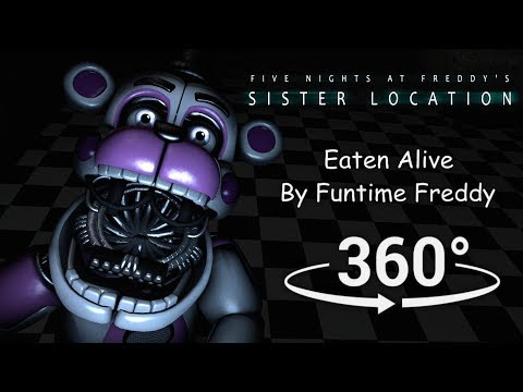 Xxx Mp4 360° Eaten Alive By Funtime Freddy FNAF Sister Location SFM VR Compatible 3gp Sex