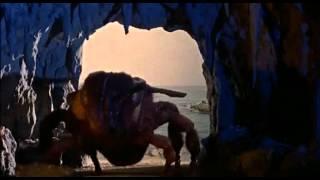 Mysterious Island - Man/Woman encounter giant bee.