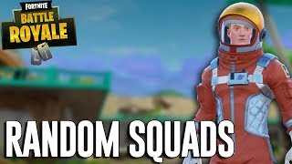 Playing Random Squads - Fortnite Battle Royale Gameplay - Ninja