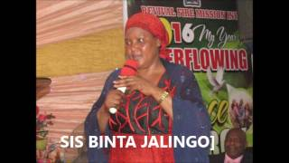 BINTA JALINGO'S TESTIMONY   HOW TO WIN OUR MUSLIM BROTHERS AND SISTERS