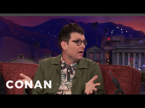 Xxx Mp4 Moshe Kasher Watched Gay Porn At A Fertility Clinic CONAN On TBS 3gp Sex