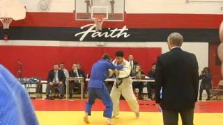 Intense Judo Match
