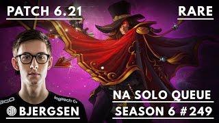 249. TSM Bjergsen - Twisted Fate vs Kassadin - Mid - October 23rd, 2016 - Season 6 - Patch 6.21
