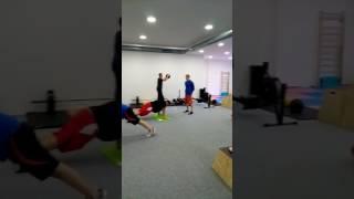 Kondiční trénink v Barbar gym & Therapy