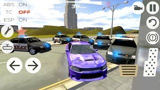 Extreme Car Driving Racing 3D #6 - Police Chase and Escape - Android Gameplay FHD
