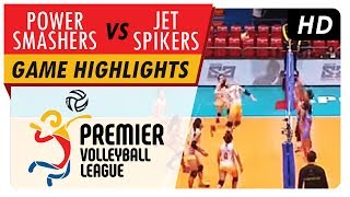 Power Smashers vs Lady Jet Spikers | Game Highlights | PVL Reinforced Conference | May 23, 2017