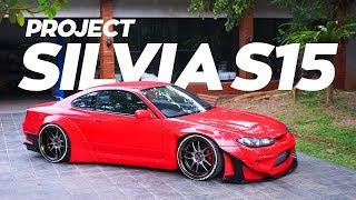Pasang canards, diffuser, coilover di Silvia S15